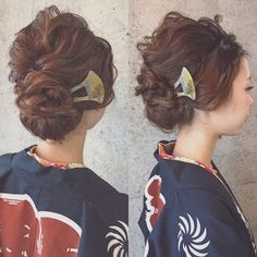 マリ 浜松祭り hair l 浜松市にある美容室 Brillant G Hair, Hair Arrange, Kimono, Hair Beauty, Hairstyle, Fashion, Moda, Hair Style, Kimonos