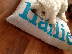 Furlap™ Personalized, Reversible, Flippable Dog Bed Duvet Cover by Furlap on Etsy https://www.etsy.com/listing/161299735/furlap-personalized-reversible-flippable