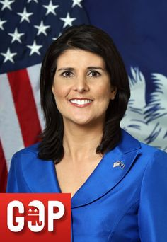 GOVERNOR OF SOUTH CAROLINE (AGE 41): Nikki Haley was quickly selected as the Chairman of the Freshman Caucus, and a few months later, became Secretary of the Medical, Military, Public and Municipal Affairs Committee. The following year, Rep. Nikki was announced as the Majority Whip for the state's House Republican Caucus. After serving three terms she announced her run for Governor and was endorsed by Mitt Romney, Sarah Palin, and the Tea Party movement.