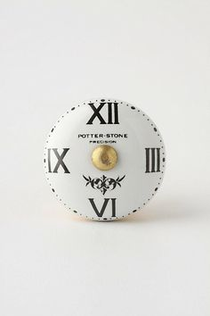 Timepiece Knob #anthropologie