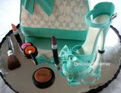 Tiffany inspired coach bag and shoe