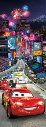 Fotobehang Komar - Disney Cars Tokyo - FotobehangFactory.nl