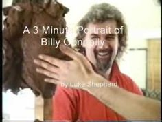Billy Connolly sitting for a portrait sculpture by Luke Shepherd. Billy Connolly, Devon Uk, Bronze Sculpture, Master Class, Galleries, Sculptures, It Cast, Kid, Portrait
