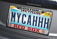 Red Sox Nation  - Nevada    Wicked neat license plate.....