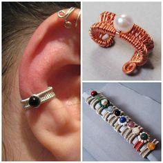Woven Ear Cuff Tutorial