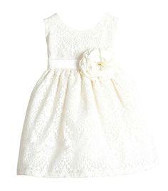 Girls Sweet Vintage Elegance Lace Flower Girl Pageant Dress (Peach)
