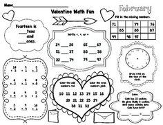Valentines Day Words, Teacher Valentine, Valentines Day Activities, Valentine Day Crafts, 1st Grade Math, Second Grade, Happy Hearts Day, Classroom Fun, School Holidays