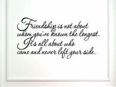 Friendship is ...