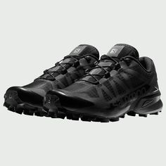Salomon S/LAB Speedcross and Snowcross trail runners Me Too Shoes, Men's Shoes, Shoe Boots, Trail Shoes, Hiking Shoes, Salomon Shoes Mens, Botas Sorel, Cyberpunk, Tactical Wear