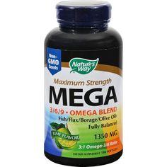 Nature's Way EFAGold MEGA - 180 Softgels