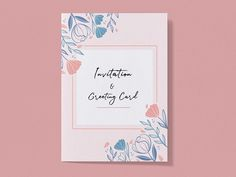Free Invitation and Greeting Card Mockup - PsFiles Invitation Mockup, Invitations, Greeting Card Template, Greeting Cards, Free Photoshop, Business Card Mock Up, Card Sizes, Psd Templates, Text Effects