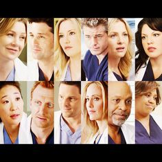 Greys Anatomy - I miss Lexi and Mark and george(even though he isn't pictured)