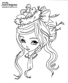 -Traditionnal art - Ink - This drawing is made for the 2015 Spring coloring contest from . MORE INFO HERE: *** If you downloaded or printed this lineart before march 14th, 22:48 (UTC/GMT -4 hour), ...