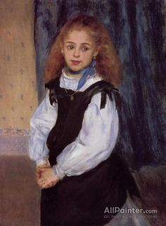 Pierre Auguste Renoir Mademoiselle Legrand oil painting reproductions for sale