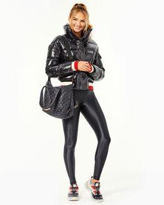 Modern Wardrobe, Striped Knit, 5 S, Fashion Forward, Active Wear, Fitness Models, Running, How To Wear, Jackets