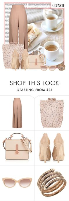 """""""Happy Mother's Day"""" by bb-tka ❤ liked on Polyvore featuring Peace and Love by Calao, Cushnie Et Ochs, Kendall + Kylie, Jimmy Choo, MCM and Roberto Coin"""