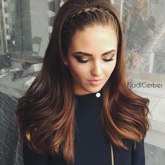 58 Mejores Imagenes De Peinados Pelo Liso Hair Down Hairstyles