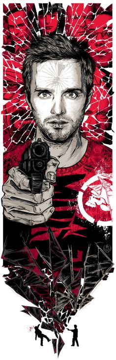 Brilliant Works From The 'Breaking Bad' Art Project - Artist: Rhys Cooper  Title: Jesse Pinkman