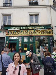 Encantes : A famosa Livraria Shakespeare & Co em Paris