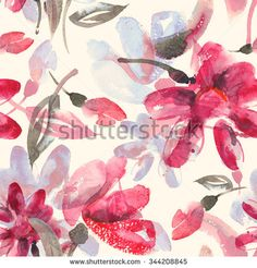 Find Watercolor Flowers Seamless Pattern stock images in HD and millions of other royalty-free stock photos, illustrations and vectors in the Shutterstock collection. Thousands of new, high-quality pictures added every day. Watercolor Flowers, Watercolor Art, Elephant Tapestry, Fabric Patterns, Royalty Free Stock Photos, Quilts, Illustration, Fragrance, Pictures