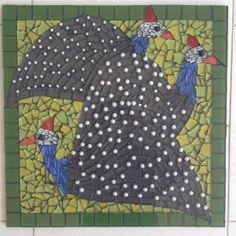 Mosaic Guinea Fowl