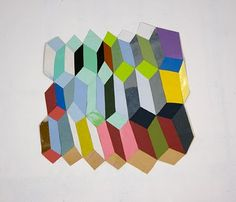 Matthew Rich: cut paper work