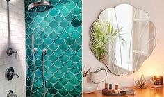 sereismo na decoração New Bathroom Ideas, Bathroom Colors, Wc Design, Mirror Makeover, Lets Stay Home, Tumblr Rooms, San Diego Houses, Beach Bathrooms, Luxury Kitchens