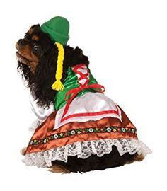 Amazon.com : Oktoberfest Sweety Pet Suit, Large (Affiliate Link)