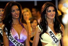Miss universe 2006 mexico and puerto rico