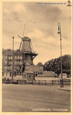 Funenkade I Amsterdam, The Old Days, Windmills, Borneo, Rotterdam, Old Pictures, Netherlands, Paris Skyline, Holland