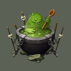 Monstercook! by Sephiroth-Art.deviantart.com on @deviantART