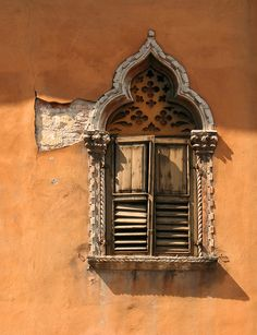 Believe it or not, this was taken in Venice, Italy.  I would've guessed Morocco.