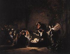 Leonaert Bramer: Adoración Magos, 1630.