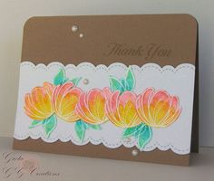 Spring Flowers colored with Zig wc markers #SSSFAVE