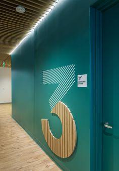 Environmental Graphic Design, Environmental Graphics, Wayfinding Signage, Signage Design, Office Interior Design, Office Interiors, Exterior Signage, Outdoor Seating Areas, Digital Signage