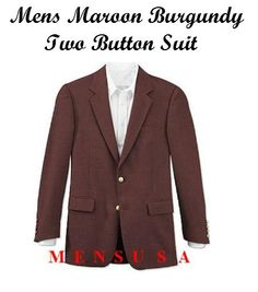 Find mens maroon burgundy suit at mensusa available at great style and fashion trend… Get everything at one place at affordable price.