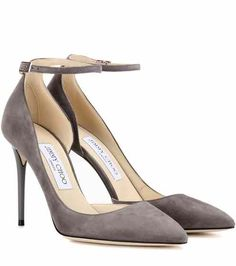 Lucy 100 suede pumps | Jimmy Choo