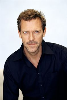 Hugh Laurie - love his eyes.