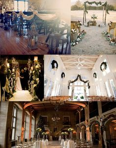 Winter Wedding Ceremony Inspiration » Inspiring Pretty