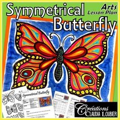 Browse over 320 educational resources created by Art with Creations Claudia Loubier in the official Teachers Pay Teachers store. Spring Art Projects, Art Projects For Teens, Toddler Art Projects, Art Lessons For Kids, Cool Art Projects, Art For Kids, Middle School Crafts, Art Papillon, Directed Drawing