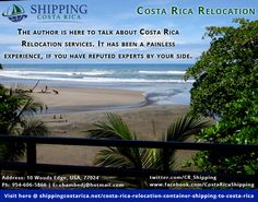 Costa Rica is a heaven like a place and located in Central America. There are various reasons to move to Costa Rica, but apart from its advantages, there is reasonable concern for getting the best transportation service. Costa Rica Relocation offers a comprehensive and professional service to clients in moving from one country to Costa Rica.