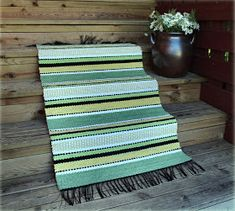 Tear, Recycled Fabric, Woven Rug, Beach Mat, Recycling, Weaving, Outdoor Blanket, Rugs, Handmade