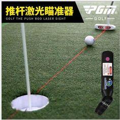 Pgm golf putter miotacz laser sight kryty nauczania mające putt praktyka pomoc
