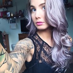 """235 Likes, 6 Comments - Off 7th Salon - SAMANTHA (@thescissorsammurai) on Instagram: """"Yesterday was mine and Meg's last luscious lavender appointment before we let it fade and bring her…"""""""