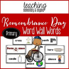classroom tips, teaching tips and teaching ideas including resources for kindergarten and primary teachers. Full Day Kindergarten, Kindergarten Classroom, Poppy Images, Play Based Learning, Remembrance Day, Teacher Newsletter, Teaching Tips, Teacher Pay Teachers, Writing Prompts