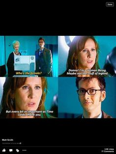 Love the doctor's smile.