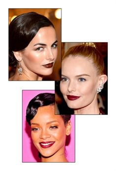 Raspberry lip hues have always been popular for autumn, but this year berry shades got a vampy update. Starting with the Met Gala in May, celebrity pouts were awash with deep plum tints and rich wine colors .