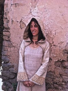 Earthy Natural Handmade Raw Silk Hoodie Shrug by PrimitiveTribalCraft