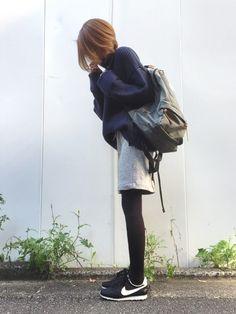 スポーティーカジュアルな気分☺︎ Instagram→mana.801                                                                                                                                                                                 もっと見る