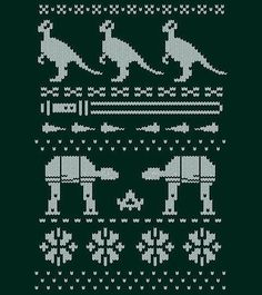 best holiday sweater pattern ever!